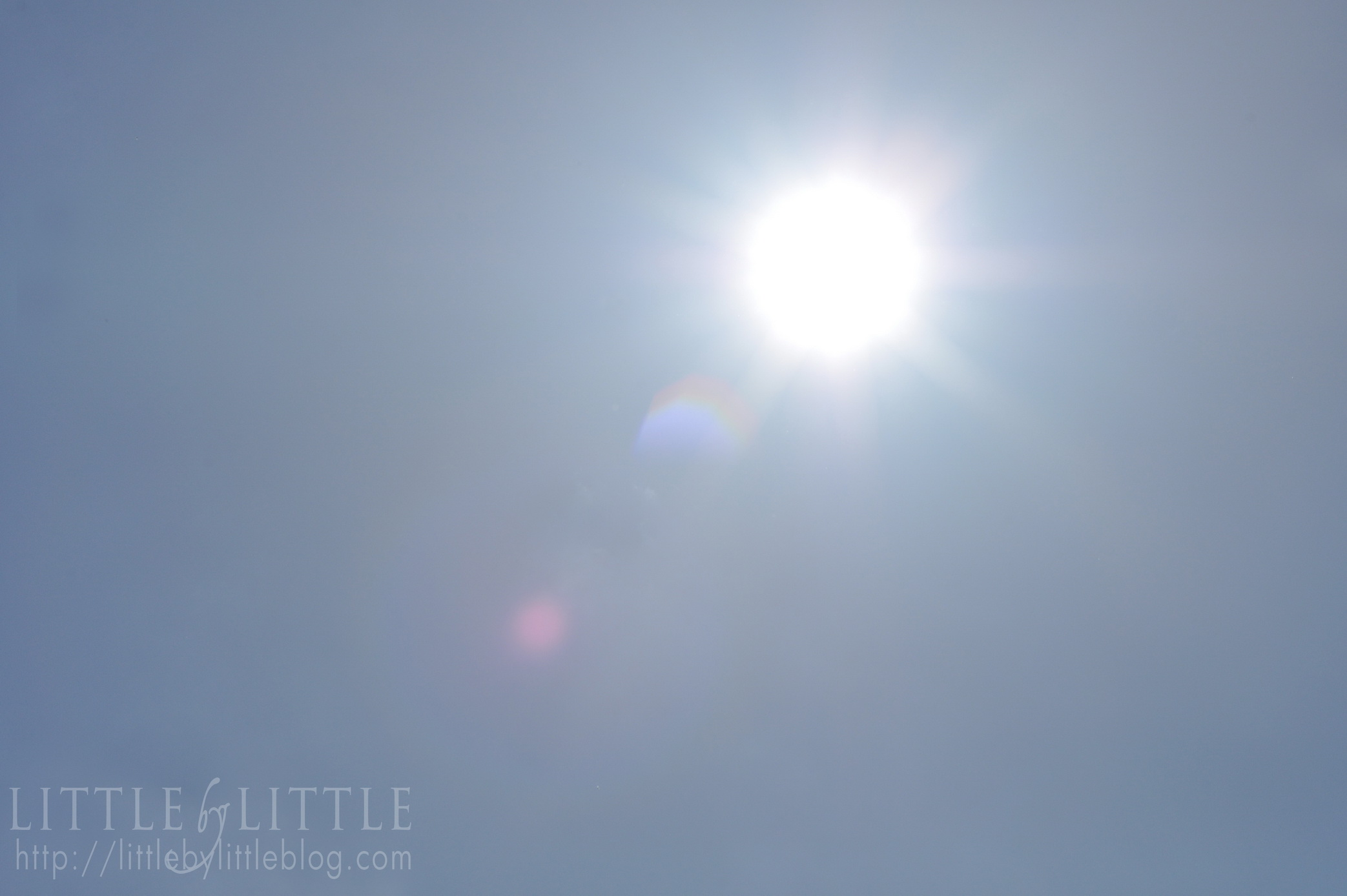 Sun Flare Logo 01 Resize Little By Little Blog