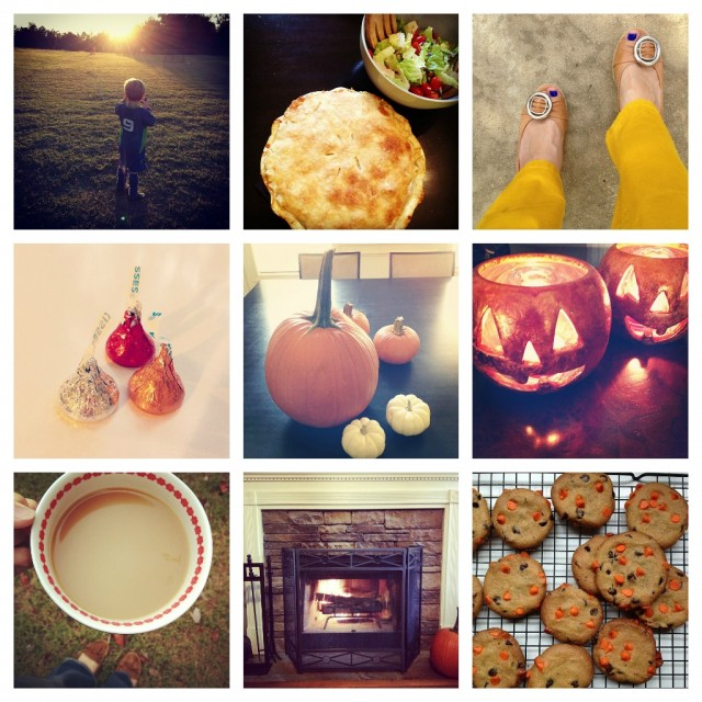 This week, according to Instagram. - Little By Little blog