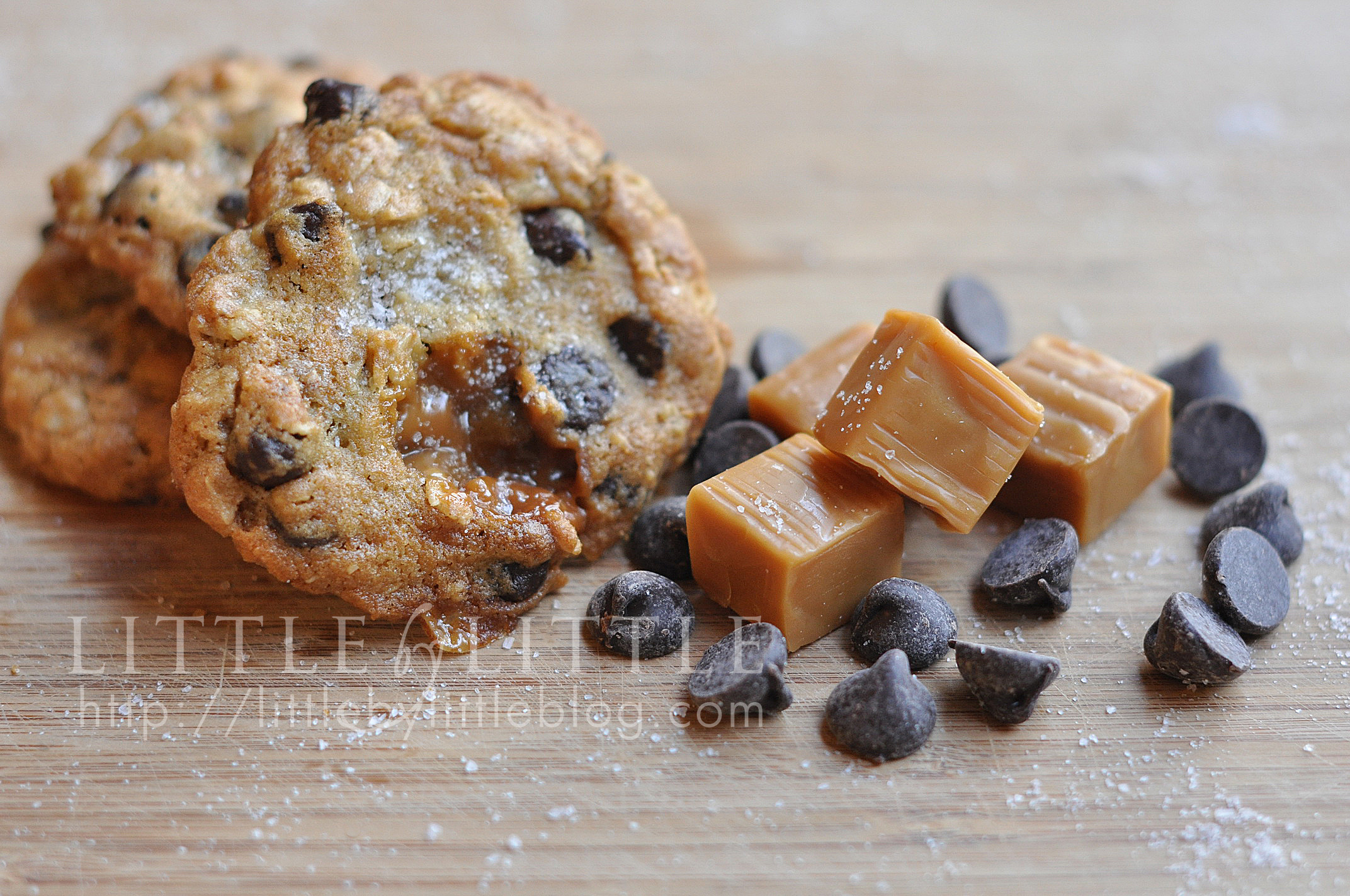 chip cookie mini chocolate chip salted caramel chocolate chip cookies ...