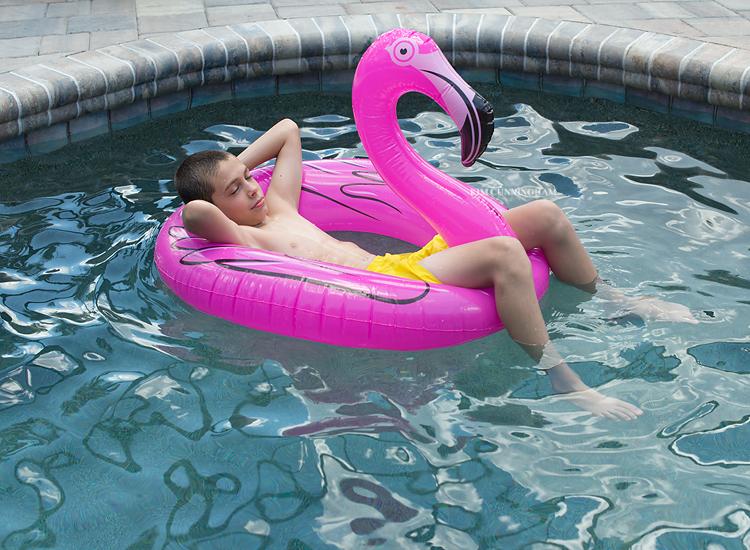 Aidan on flamingo 01-750